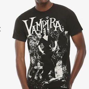 NWOT Hot Topic Vampira Cemetery Mist Tshirt XXL
